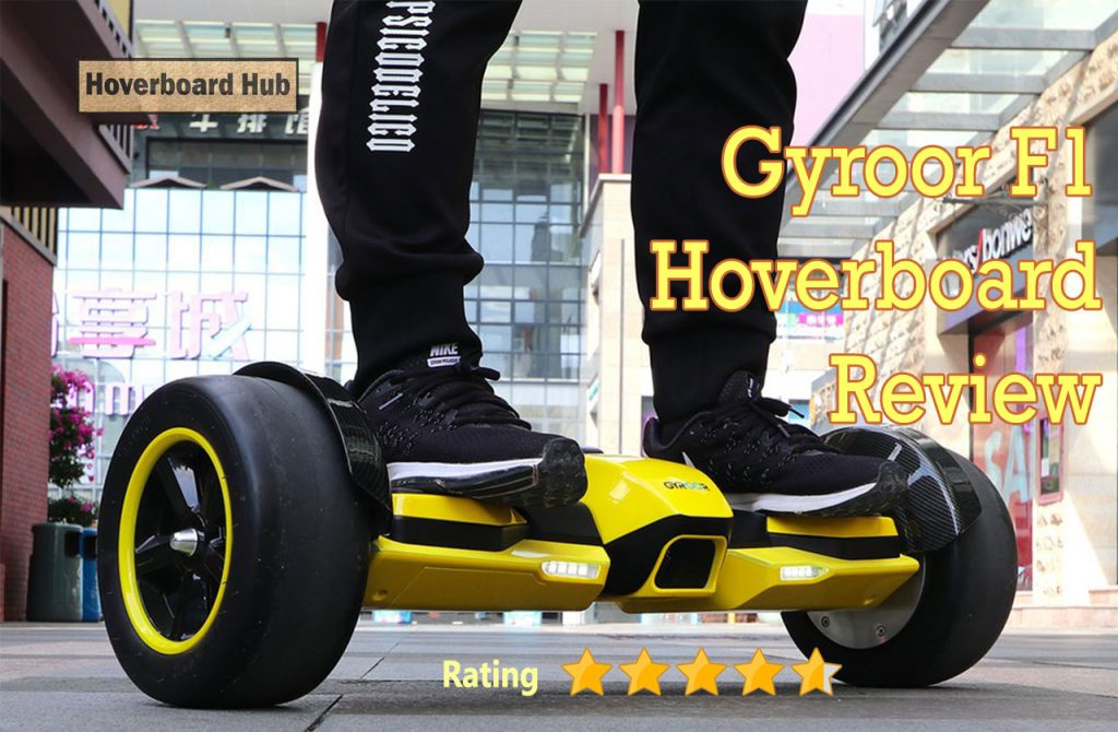 Gyroor F1 Hoverboard Review Image