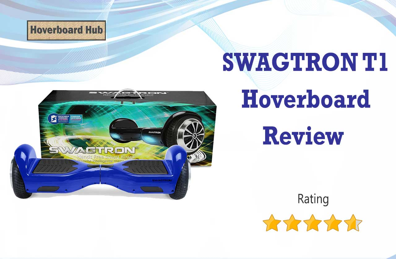 Swagtron T1 Electric Self Balancing Scooter Review - Hoverboard Hub