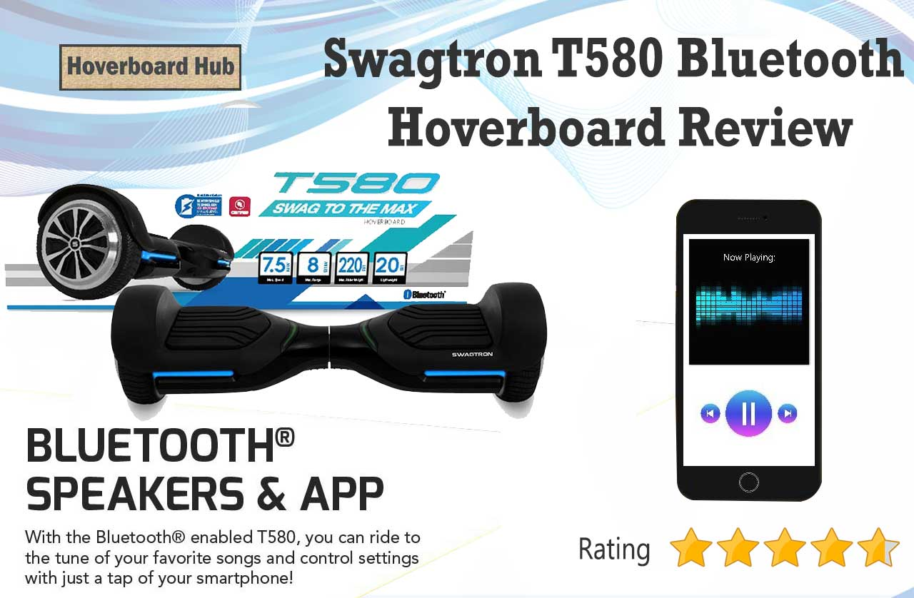 Swagtron T580 Bluetooth Hoverboard Review Hoverboard Hub