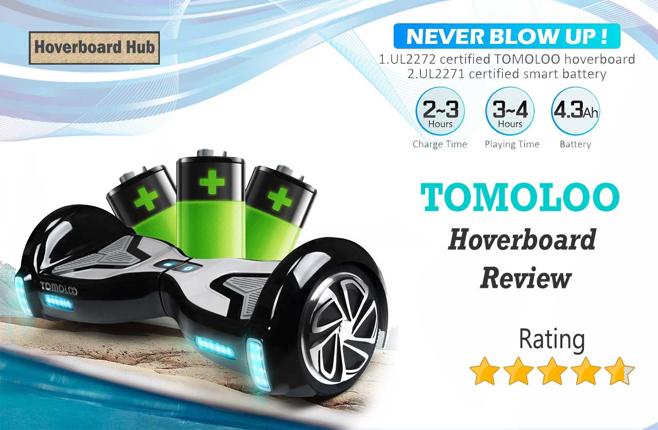 TOMOLOO Hoverboard with Bluetooth Speaker Review