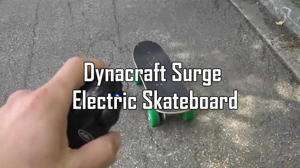 Dynacraft Surge Electric Skateboard