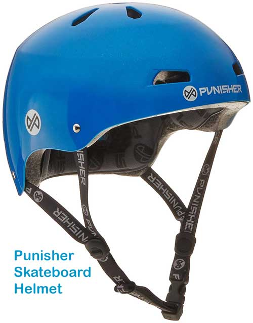 Punisher Skateboard Helmet