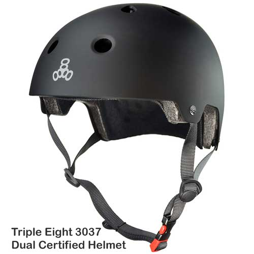 Triple Eight 3037 Dual Certified Helmet
