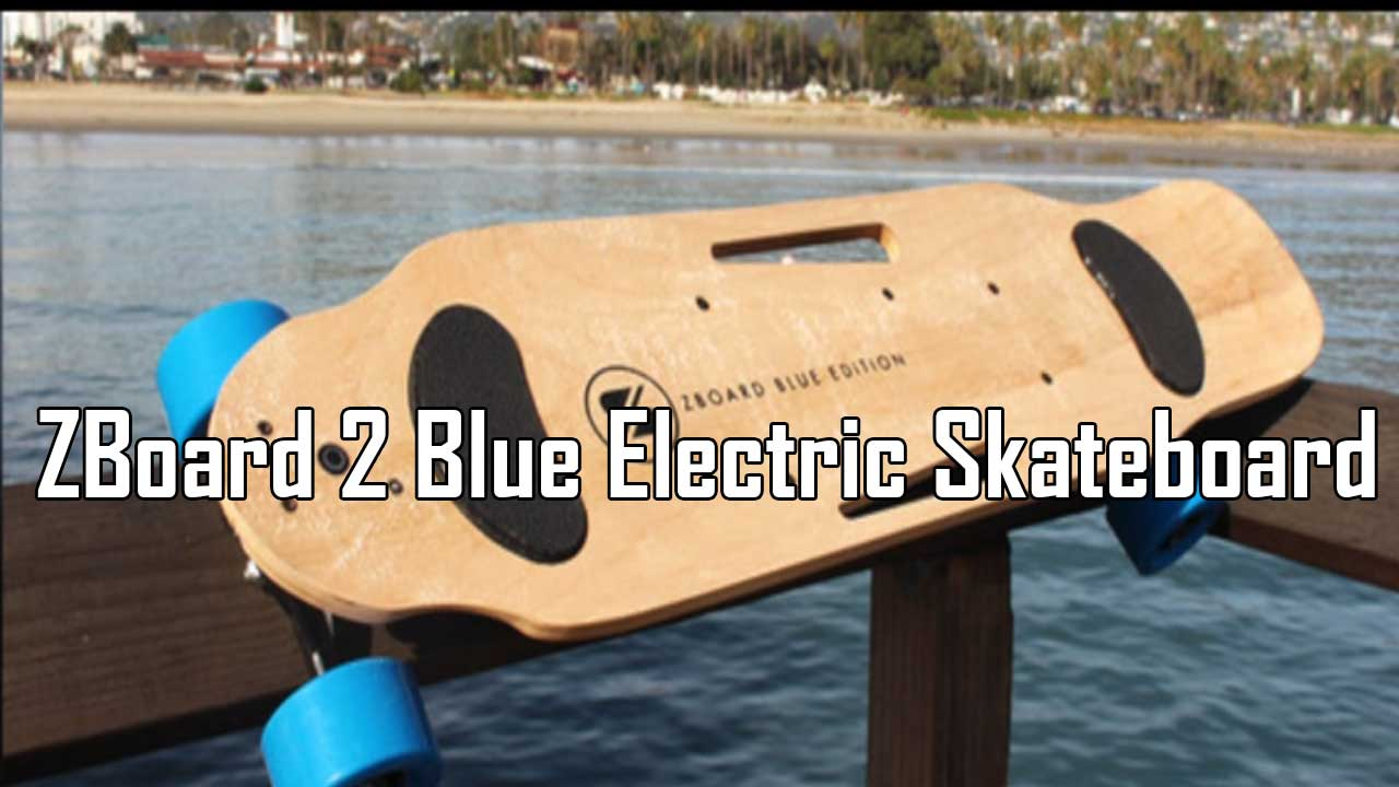 ZBoard 2 Blue Electric Skateboard